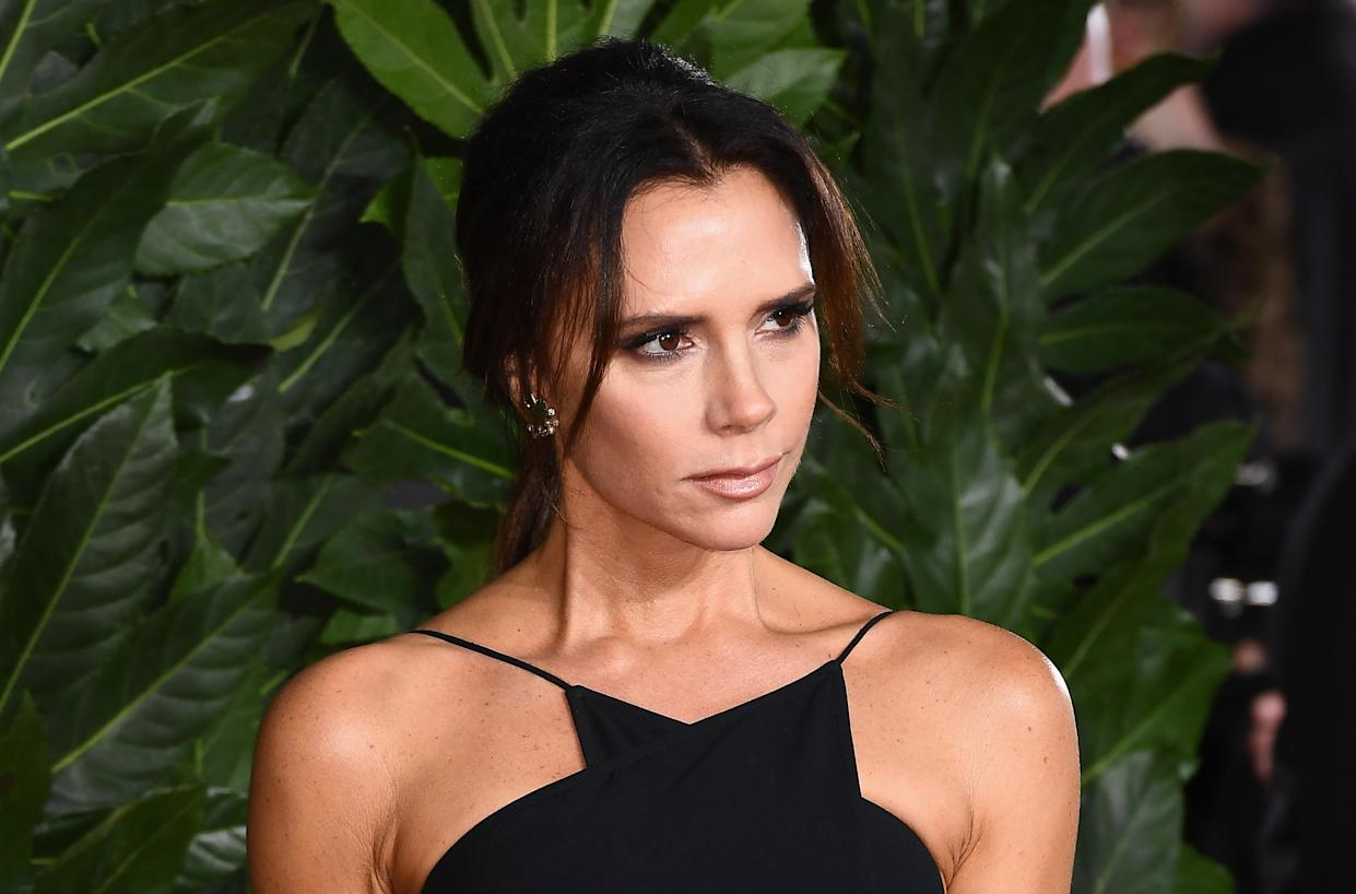 Victoria Beckham praised her 'inspiring' parents as they celebrated their 50th wedding anniversary. (Photo by Jeff Spicer/BFC/Getty Images for BFC)