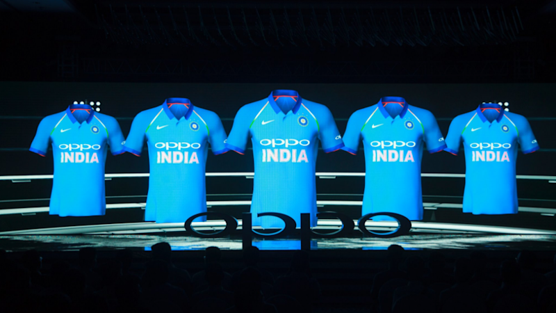 New Jerseys For Indian Cricket Team Unveiled! Oppo Replaces Star