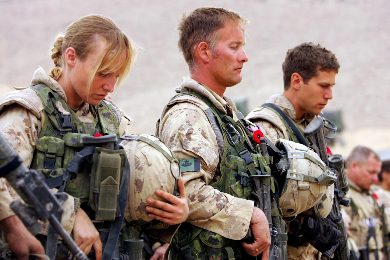 <p>In 1965, the Canadian government allowed a maximum of 1,500 women to serve directly in all three branches of its armed forces. By 1989, Canada had opened all combat roles except those involving submarine warfare to women. </p>