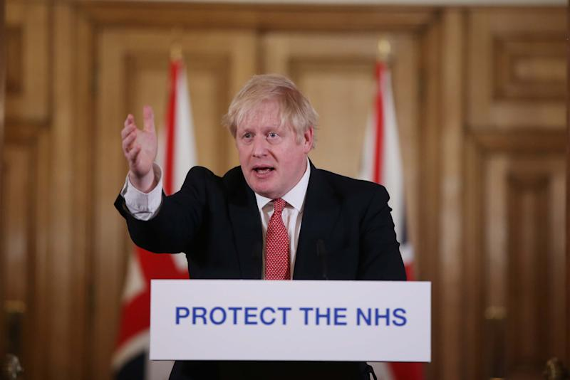 Boris Johnson has repeatedly praised 'amazing NHS staff' during the coronavirus crisis. (Ian Vogler-WPA Pool/Getty Images)