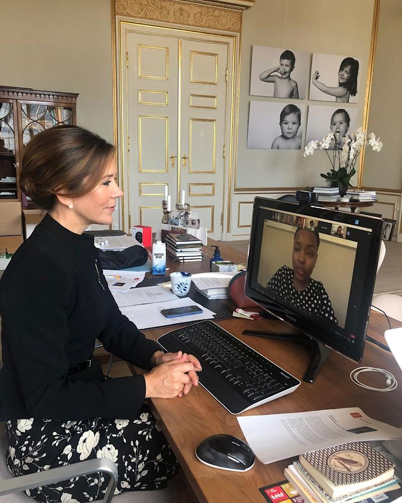 Fans of Princess Mary have spotted an 'embarrassing' detail in a new photo. Photo: Instagram/detdanskekongehus.