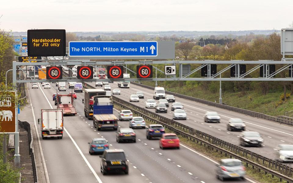 A chief constable letter reveals police were worried motorists would die if the hard shoulder was scrapped - Dawson Images / Alamy Stock Photo