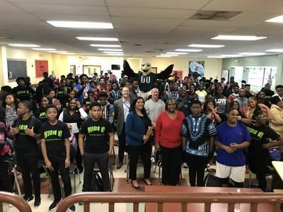 STEM Scholars Kick Off at Imhotep Institute Charter High School in 2019