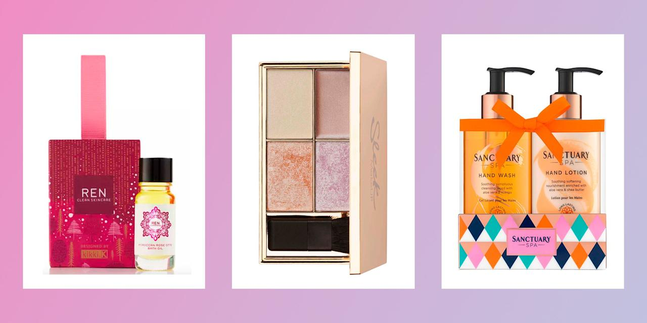24 Christmas beauty gifts for £10 or less