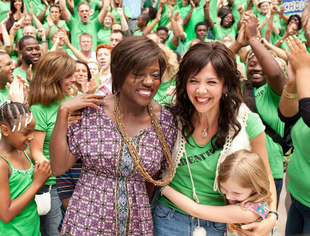 """ Won't Back Down "" Release date: September 28 Starring: Maggie Gyllenhaal and Viola Davis"