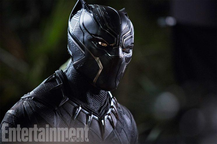 Chadwick Boseman as Black Panther - Credit: EW/Marvel