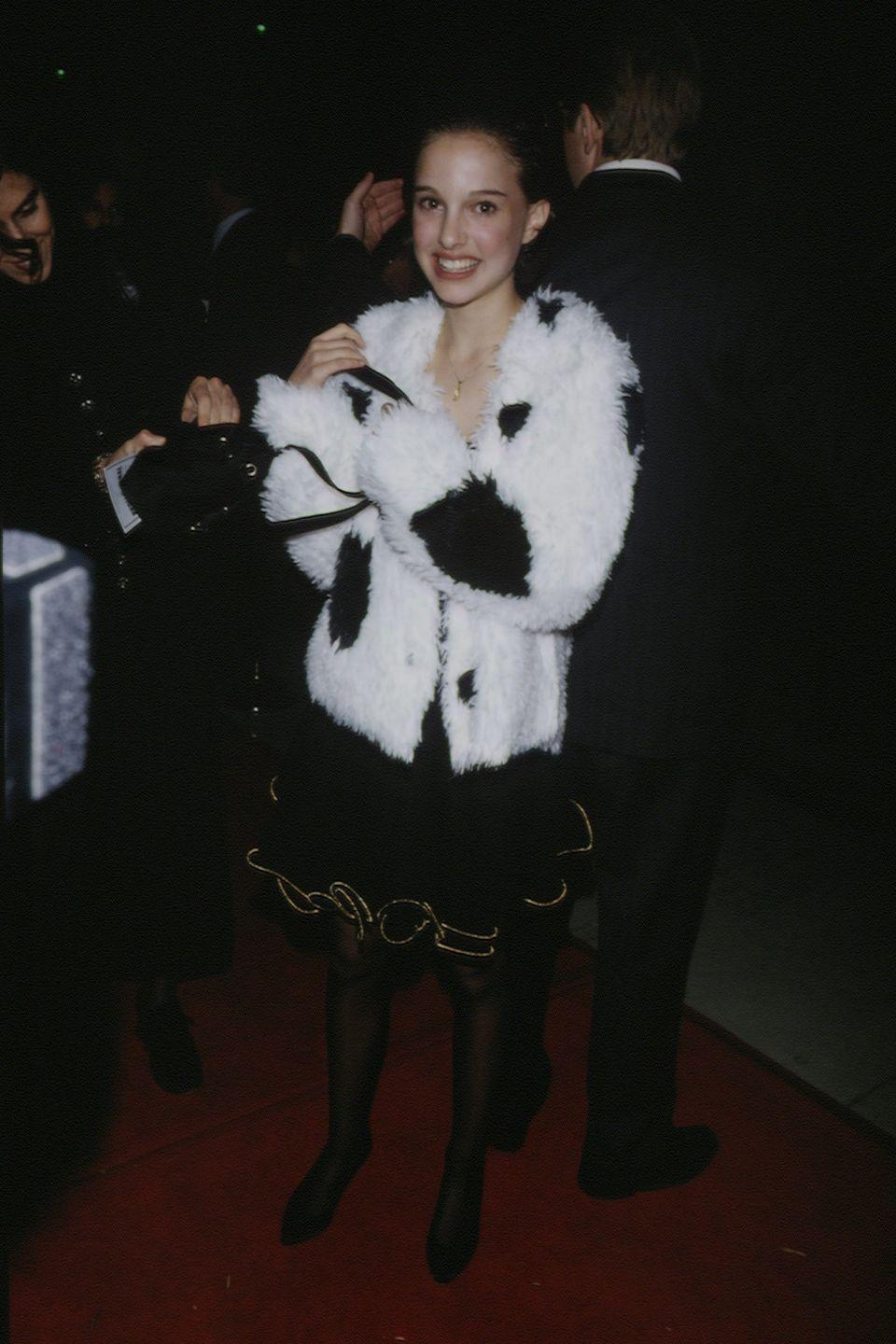 <p>Natalie Portman made her acting debut at the age of 12 in <em>León the Professional</em>, and she arrived on the red carpet in true '90s fashion. </p>