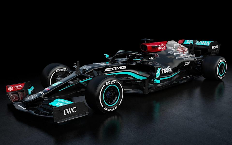 Mercedes' new car - PA