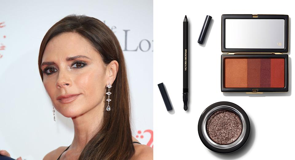 Victoria Beckham has just launched her first beauty line [Photo: Getty Images]