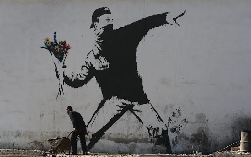Banksy Graffiti  - Getty Images