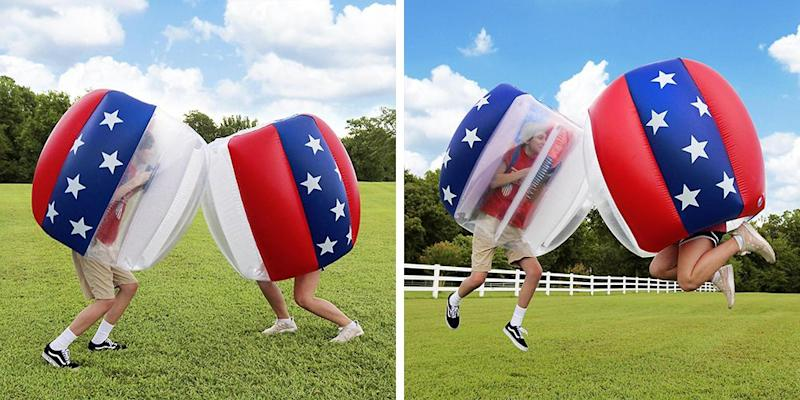 Battle It Out In These Inflatable P N Run S And