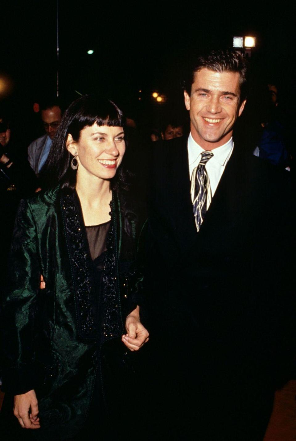 "<p>Actor Mel Gibson <a href=""http://people.com/celebrity/mel-gibsons-wife-files-for-divorce/"" rel=""nofollow noopener"" target=""_blank"" data-ylk=""slk:met Robyn Moore"" class=""link rapid-noclick-resp"">met Robyn Moore</a> when Moore was a dental nurse in the 1970s. They were married on June 7, 1980 in a Catholic ceremony in Australia. They pair went on to have seven children together but Moore filed for divorce on April 13, 2009, shortly after Gibson was arrested for drunk driving in Malibu. </p>"