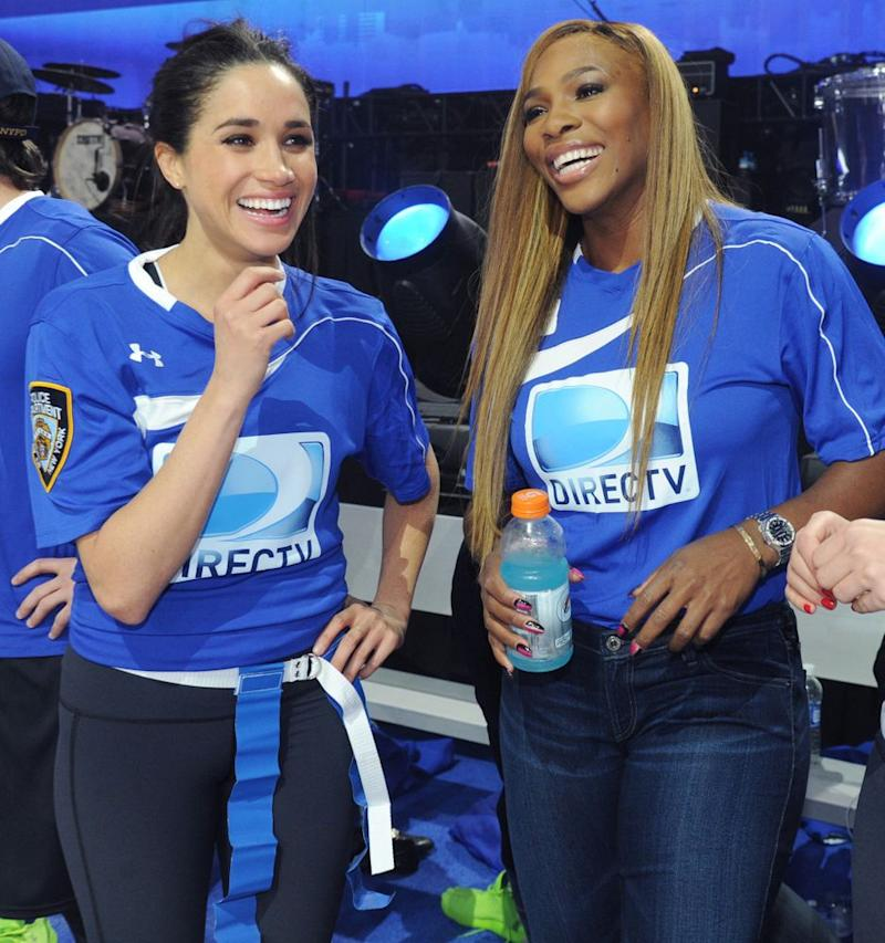 Meghan Markle and Serena Williams in 2014