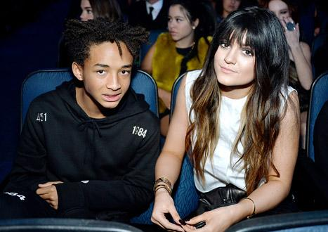 Kylie Jenner, Jaden Smith Sit Together at American Music Awards: Picture