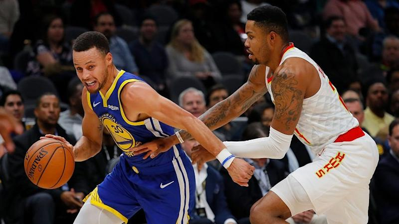 Stephen Curry Says He Doesn't Believe Man Landed on the Moon (AUDIO)