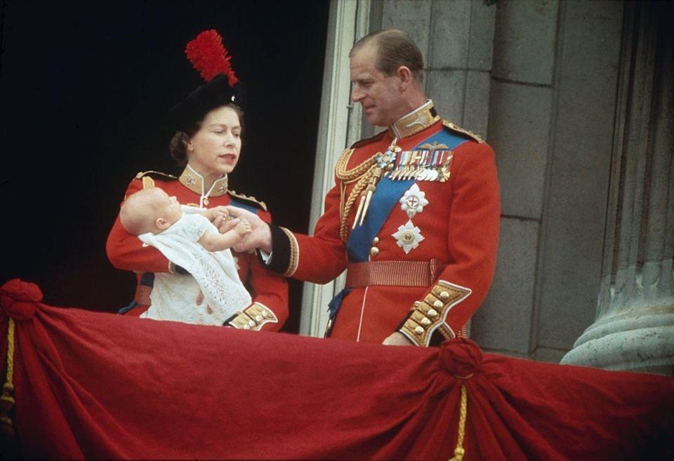 """<p>Four years later, the couple had <a href=""""https://www.goodhousekeeping.com/life/a22759674/queen-elizabeth-children/"""" rel=""""nofollow noopener"""" target=""""_blank"""" data-ylk=""""slk:their fourth and last child"""" class=""""link rapid-noclick-resp"""">their fourth and last child</a>, Prince Edward.</p>"""