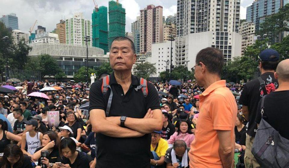 The trial of media tycoon Jimmy Lai (pictured) and eight others over an unauthorised march in 2019 now has a high-profile guest prosecutor. Photo: Handout