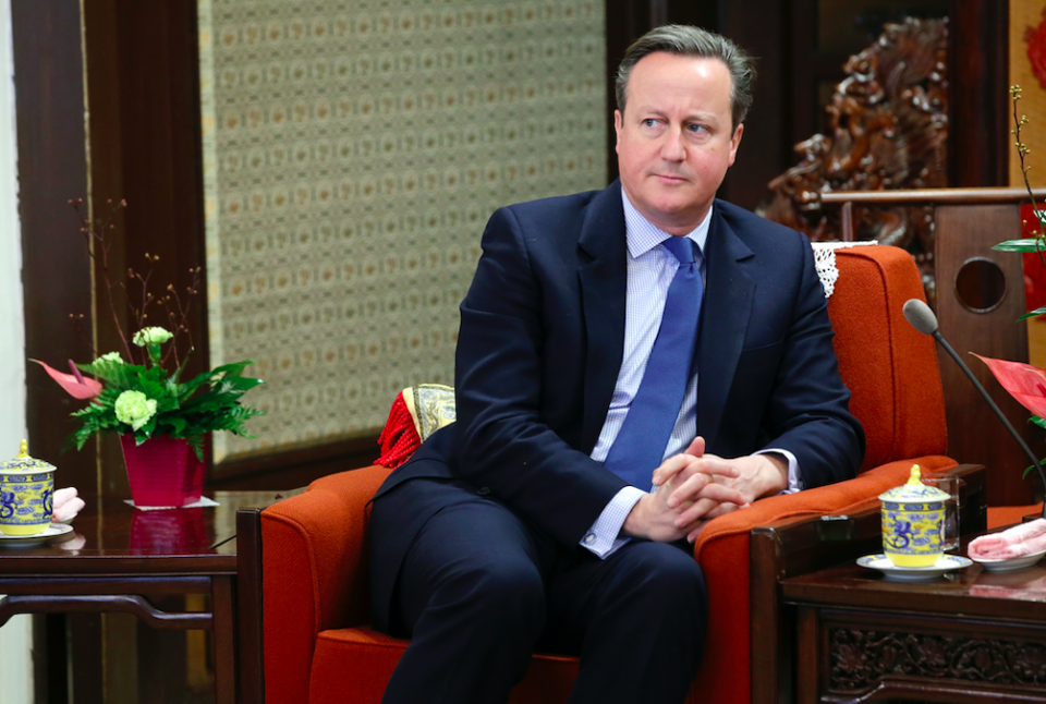 <em>The former Prime Minister said he disagreed with the Tories who quit the party (Getty)</em>