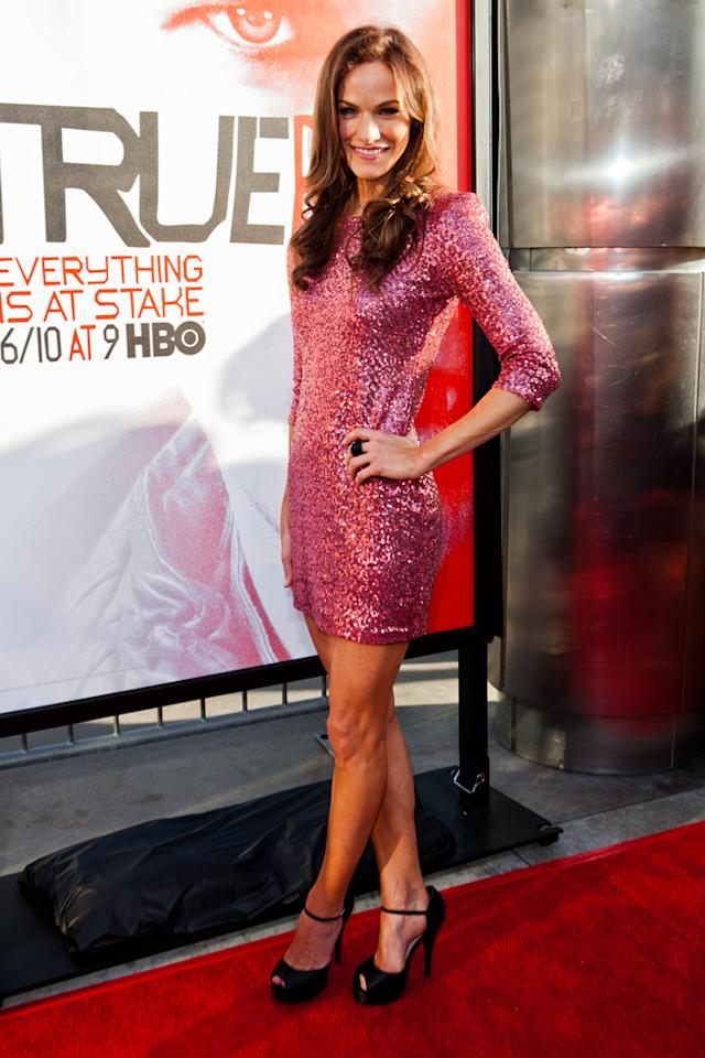 "Kelly Overton attends HBO's ""True Blood"" Season 5 Los Angeles premiere at ArcLight Cinemas Cinerama Dome on May 30, 2012 in Hollywood, California."