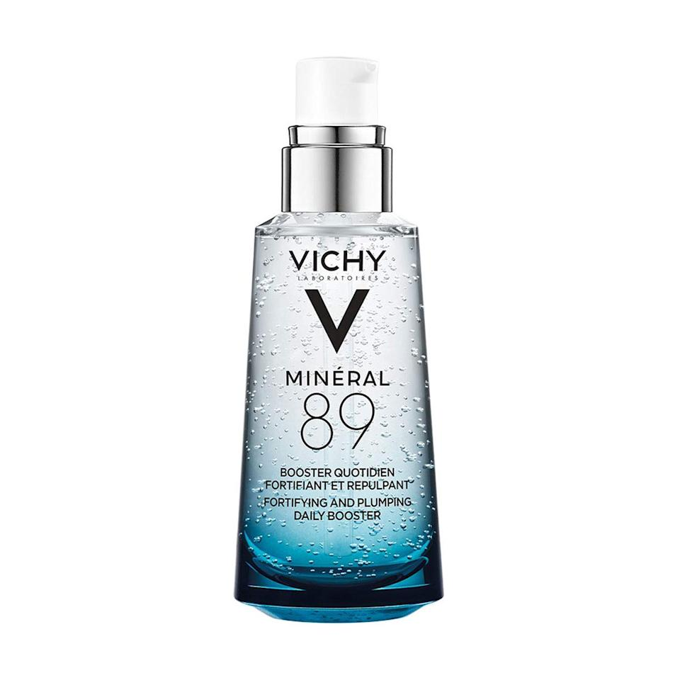 "<h3>Vichy</h3><br><strong>Dates:</strong> May 21 – May 25<br><strong>The Deal: </strong>Take 20% off and get a free gift with purchase on orders $49+<br><strong>Promo Code:</strong> No code needed<br><br><em>Shop</em> <a href=""https://www.vichyusa.com/"" rel=""nofollow noopener"" target=""_blank"" data-ylk=""slk:vichyusa.com"" class=""link rapid-noclick-resp""><strong><em>vichyusa.com</em></strong></a><br><br><strong>Vichy</strong> Minéral 89 Hyaluronic Acid Face Moisturizer, $, available at <a href=""https://go.skimresources.com/?id=30283X879131&url=https%3A%2F%2Fwww.vichyusa.com%2Fskin-care%2Fskin-care-product-type%2Fface-moisturizer%2Fmineral-89-mineral89.html%23donotlink"" rel=""nofollow noopener"" target=""_blank"" data-ylk=""slk:Vichy"" class=""link rapid-noclick-resp"">Vichy</a>"