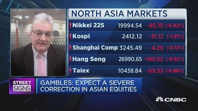 Paul Gambles of MBMG Group points to the fall in the global credit impulse as a sign that equity markets are poised for a severe correction.
