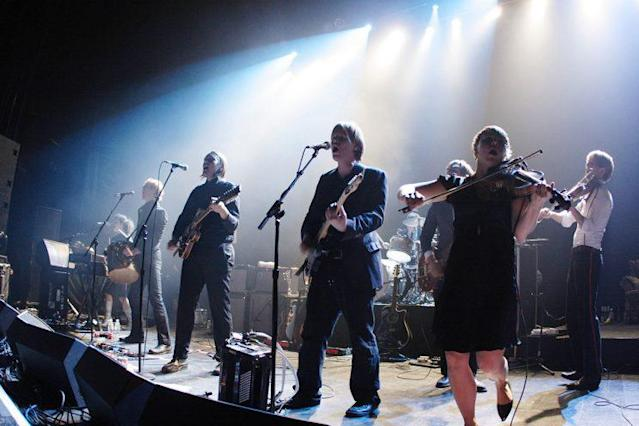 Arcade Fire fans are fired up after a dress code misunderstanding. (Photo: Getty Images)