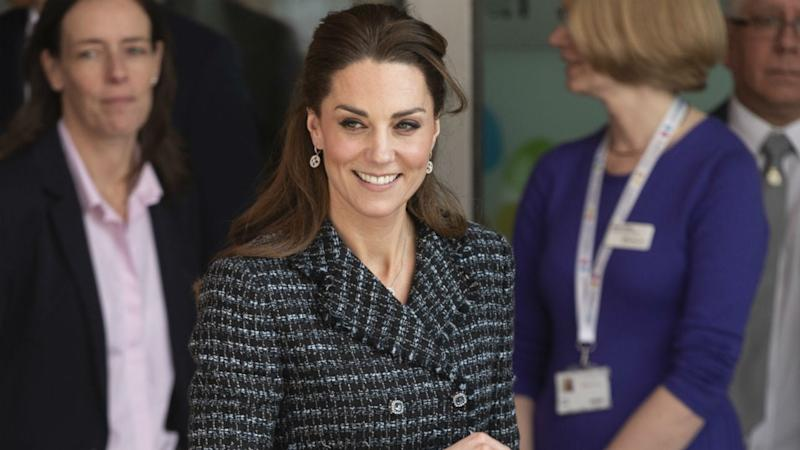 Kate Middleton Poses So Young Fan Can Get the Perfect Shot: See the Pic!