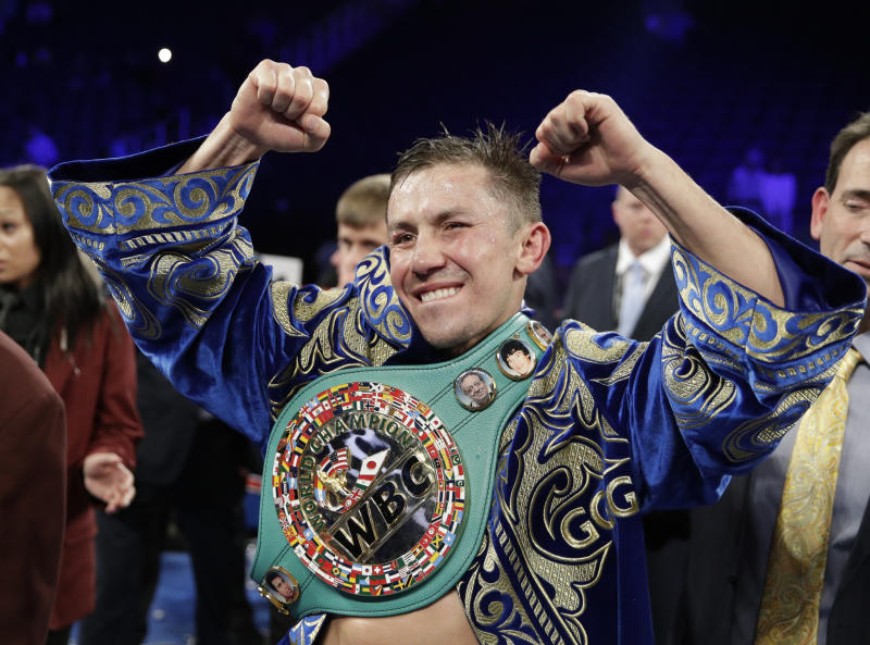 GGG inks six-fight deal with DAZN