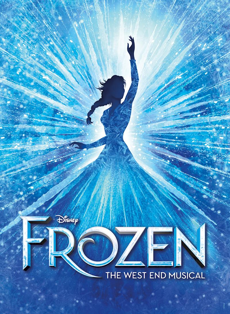 Frozen: The West End Musical - key art.