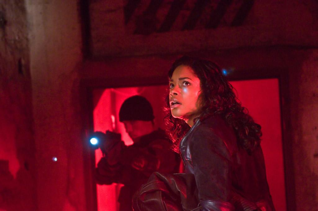 """<a href=""""http://movies.yahoo.com/movie/contributor/1808446902"""">Naomie Harris</a> in Warner Bros. Pictures' <a href=""""http://movies.yahoo.com/movie/1810030348/info"""">Ninja Assassin</a> - 2009"""