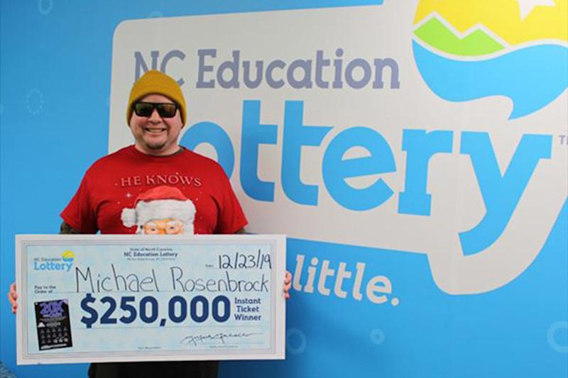 N.C. Man Shopping for Christmas Meal Groceries Ends Up Winning $250K Lottery