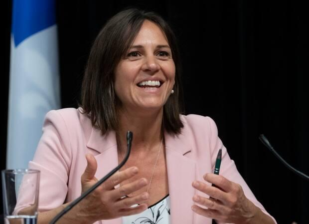 Isabelle Charest, Quebec's junior education minister, has been in discussions with public health about summer camps.