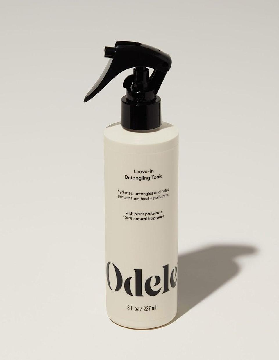 <p>The <span>Odele Leave-in Detangling Tonic</span> ($15) has a fresh floral scent that is light and not overbearing. It reminds me of chamomile and jasmine. The Leave-in Detangling Tonic is vegan, clean, color-safe, and made with all hair types in mind. </p>