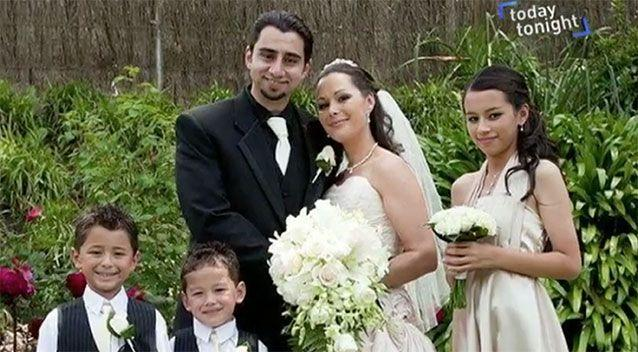 Sharon and Ramsey Jabbour on their wedding day.