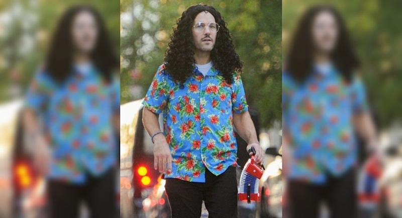 Paul Rudd Dressed As Weird Al With His Daughter As The Wasp Is A Halloween Chef S Kiss