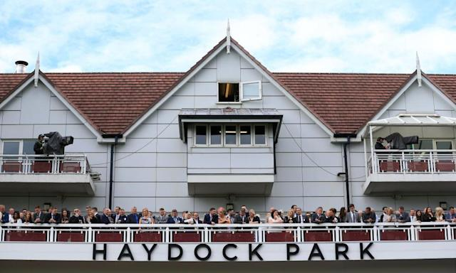 """<span class=""""element-image__caption"""">A number of big-field handicaps at Haydock could bring great rewards for any winning punters.</span> <span class=""""element-image__credit"""">Photograph: Tim Goode/PA</span>"""