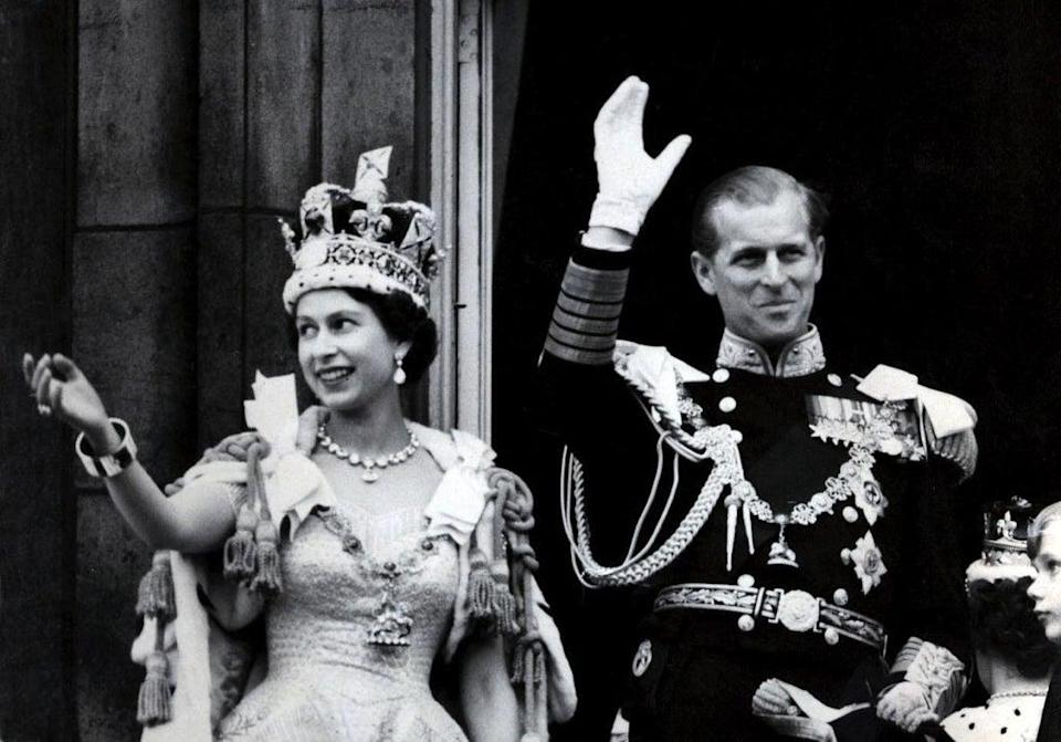 The Queen and Philip (PA Wire)