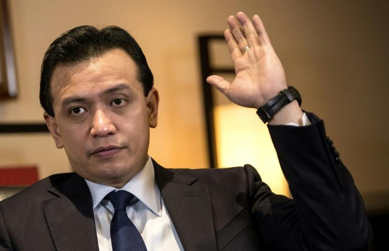 Philippine Senator Antonio Trillanes had President Rodrigo Duterte's son, Paolo, brought before a Senate inquiry to face allegations he was involved in drug trafficking