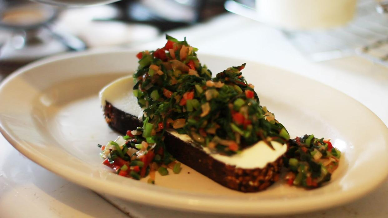 Forget Avocado Toast, Try These Unexpected Greens on Your Toast
