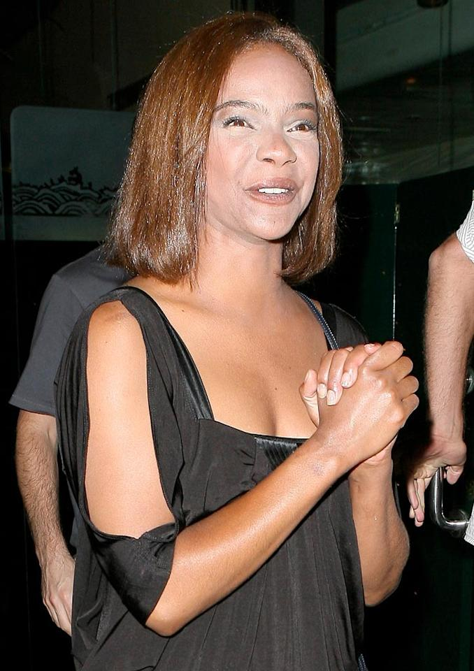 """Saved By the Bell"" alum Lark Voorhies (aka Lisa Turtle) has been M.I.A. in recent years. Same goes for her makeup artist. ICE/<a href=""http://www.x17online.com"" target=""new"">X17 Online</a> - August 3, 2009"