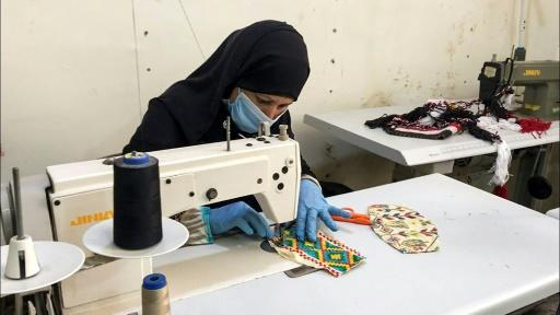 Egypt's Bedouin textile tradition of tatriz -- weaving and beading rich geometric and abstract designs on garments, cushions and purses -- has been passed down from generation to generation