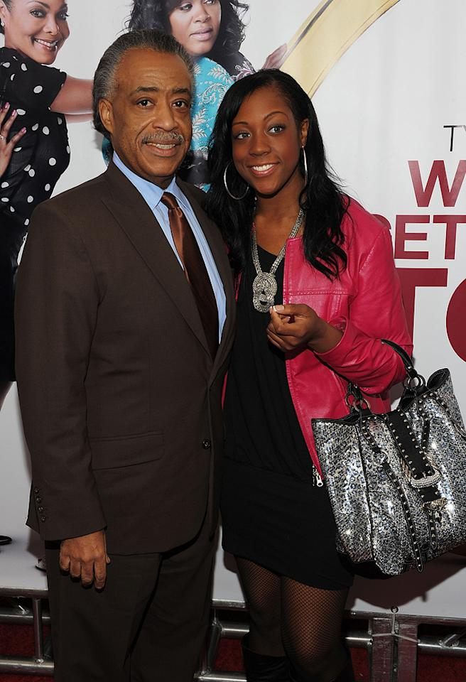 """Al Sharpton and guest at the New York City premiere of <a href=""""http://movies.yahoo.com/movie/1810073266/info"""">Tyler Perry's Why Did I Get Married Too?</a> - 03/22/2010"""