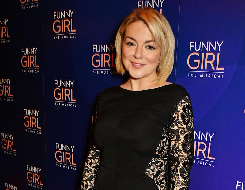 "LONDON, ENGLAND - APRIL 20: Cast member Sheridan Smith attends the press night after party for ""Funny Girl"" at The Waldorf Hilton Hotel on April 20, 2016 in London, England. (Photo by David M. Benett/Dave Benett/Getty Images)"