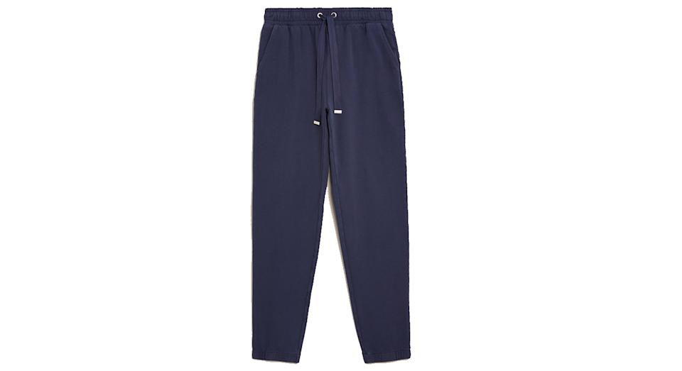Cotton Tapered Ankle Grazer Joggers