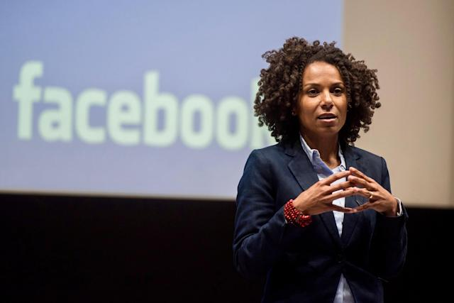 Facebook Global Director of Diversity Maxine Williams. lewource: US Embassy London/Flickr