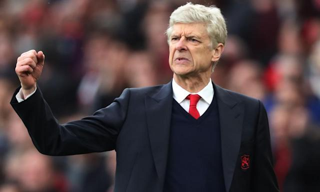 """<span class=""""element-image__caption"""">Arsène Wenger said Arsenal started with a 'high level of anxiety' against Manchester City but 'we came back and I would say it will help us to rebuild confidence'.</span> <span class=""""element-image__credit"""">Photograph: BPI/Rex/Shutterstock</span>"""