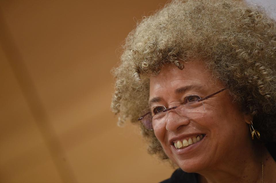 Angela Davis investigated US prison system in one of her ten books (AFP via Getty Images)