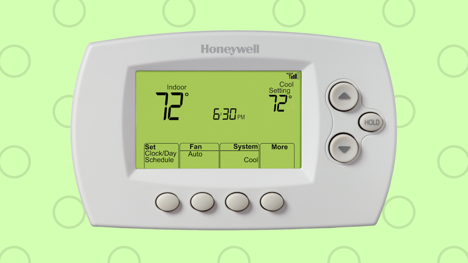 Be environmentally conscious...you know, when it comes to monitoring the temp in your home. (Photo: Walmart)