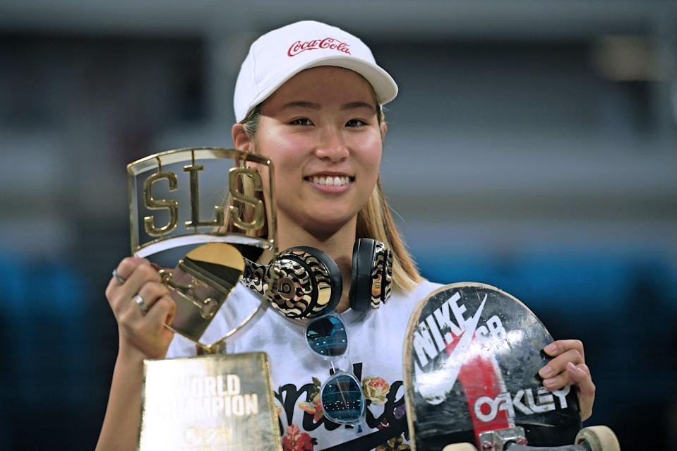"<p><em>Above: Nishimura after winning the Street League Skateboarding World Championship in January 2019</em></p> <p><strong>POPSUGAR: What's the proudest moment of your skateboarding career thus far?</strong></p> <p><strong>Nishimura:</strong> For me, it was winning the World Championship in Brazil.</p> <p><strong>Steamer:</strong> One time, probably in 2004, I was this girl's Make-A-Wish. Her dying wish was to meet me. I met her, her friend, and her mom [at the x Games], and I think they expected just to say hi and me sign a couple autographs and then be on their way, but I was actually with my sister, who has since passed away of a terminal illness. At the time, we were all hanging out, and they were like, ""OK, nice to meet you."" And I was like, ""Whoa, whoa, whoa. Where are you going?"" And I got their phone number and I hung out with them all weekend, and we got them passes to the athlete lounge . . . We actually were pen pals. I pen palled with her for a couple years after that, and then my sister actually pen palled with her longer than I did. </p> <p><strong>Armanto:</strong> I would say my proudest moment was when I turned pro and I also at the same time got the cover of <strong>Thrasher</strong> [magazine]. I just felt like growing up, I always thought it'd be cool to skateboard as a living. But at the time, there weren't other women or females doing that and making a living just off skating. A lot of other women in skateboarding, they had jobs on the side. When that day happened, it was like the idea that you can just skateboard for a living, it felt solidified for me. And it kind of felt like a dream come true. It was validation for me - just getting my name on a board and also getting the cover <strong>Thrasher</strong>. In skateboarding, those are two monumental moments, and I just happened to have them at the same time.</p>"