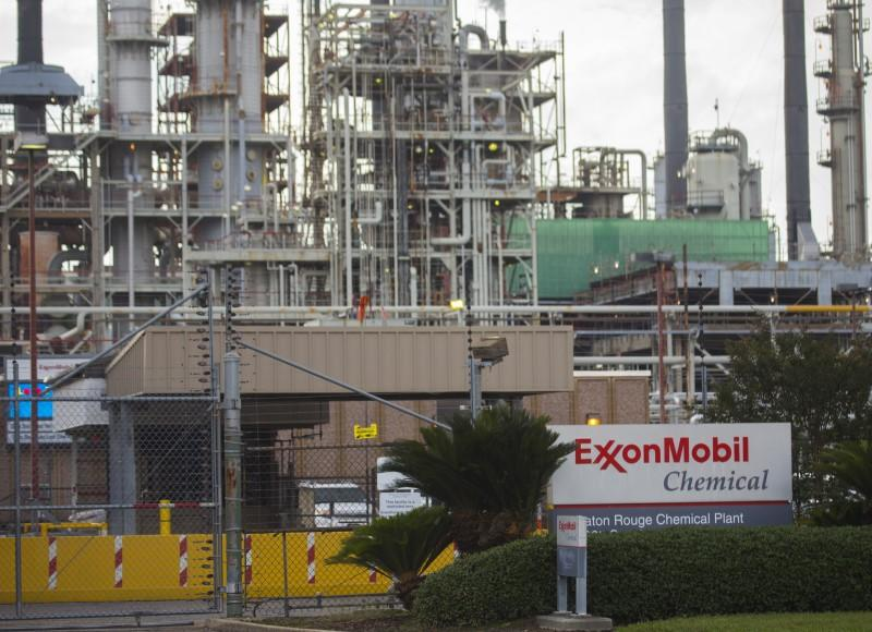 A view of the Exxonmobil Baton Rouge Chemical Plant in Baton Rouge, Louisiana.